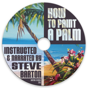 BARTON-DVD How to Paint a Palm